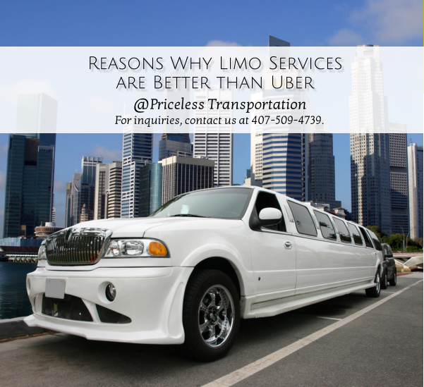 Reasons Why Limo Services are Better than Uber